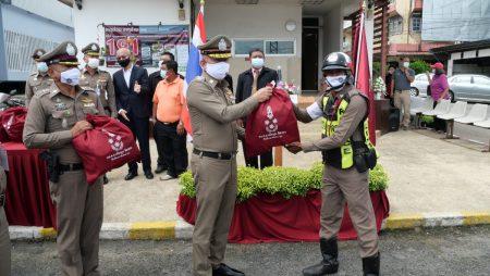 ที่ปรึกษาพิเศษ, สำนักงานตำรวจแห่งชาติ, มอบถุงยังชีพ,ตำรวจภูธรเมืองตรัง,